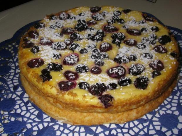 Beeren-Quark-Torte - Rezept