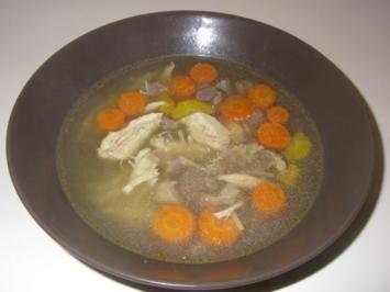 Hühner-Süppchen - Rezept
