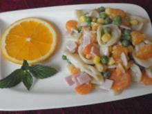 Bunter fruchtig - leichter Nudelsalat ... - Rezept