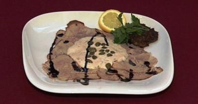 Vitello Tonnato - Kalbsbraten mit Thunfischsoße (Sila Sahin) - Rezept