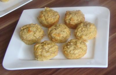 Rezept: Zuckerfreie Bananen-Muffins
