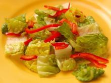 Saläd'sche - einfach, schnell und knackig - Rezept