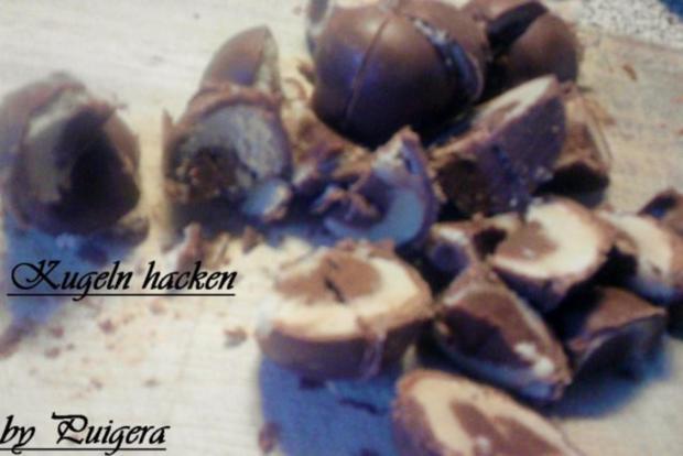 Mein Lieblingseis     Schoko-Marzipan-Honig - Rezept - Bild Nr. 3