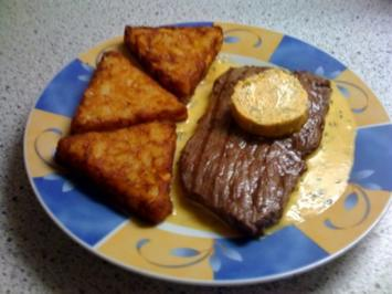 "Rumpsteak ""Café de Paris"" - Rezept"