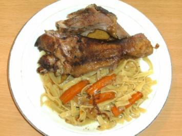 Fleisch: Puten-Unterkeule geschmort - Rezept
