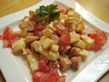 Schweizer Käsesalat - Rezept