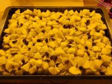 Apfelkuchen vom Blech auf leckerem Quark-Öl-Teig - Rezept