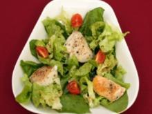 Fisch angerichteter Salat (Andreas von Thien) - Rezept