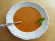 C: Tomatensuppe mit Reis - Rezept