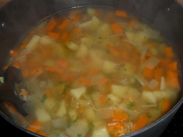 Gemüsesuppe mit Mettklößchen - Rezept - Bild Nr. 3