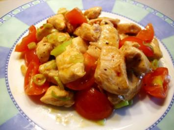 Hähnchenbrustfilet als Salat - Rezept