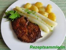 Fleisch:    HÜFTSTEAK an getrüffelten Drillingen - Rezept
