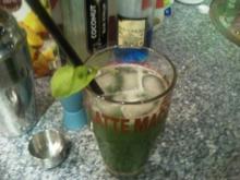 Cocktail Grüne Minna - Rezept
