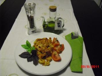 Tortellini mit Thunfischsauce - Rezept