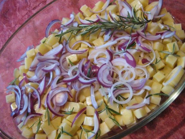 Red Snapper an Meerealgensalat mit Rosmarinkartoffeln... - Rezept - Bild Nr. 3