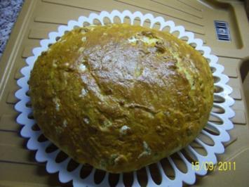 Brot mit Knoblauchwurst - Rezept