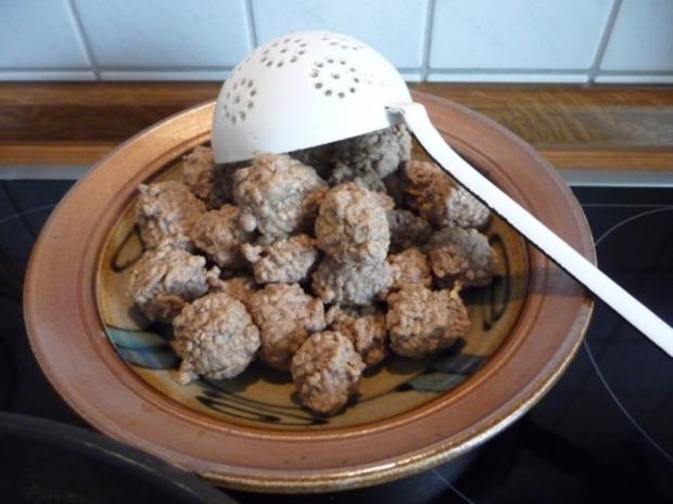 Suppen & EIntöpfe : Kartoffelsuppe mit Hackbällchen - Rezept - Bild Nr. 5