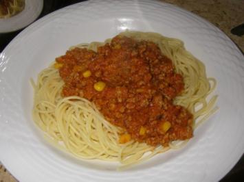 Spaghetti-Sugo ala Conny - Rezept