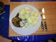 Fleisch: Scharfes Stielkotelett mit Austernpilzsoße - Rezept