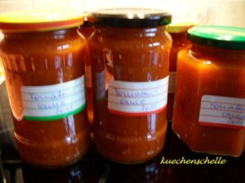 Rezept: Vorrat: Tomatensauce