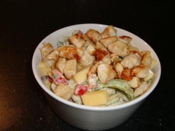 bunte Salatschüssel - Rezept