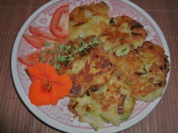 Rezept: Kartoffelrösti mit Käse und Porree
