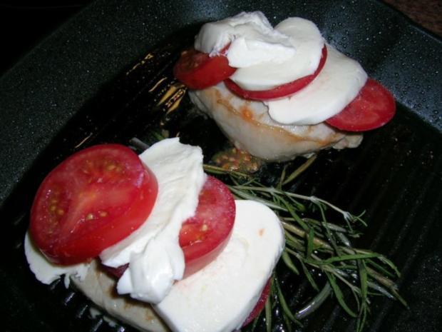 Schweinesteak überbacken mit geschmorten Tomaten (meine schnelle Feierabendküche) - Rezept - Bild Nr. 2