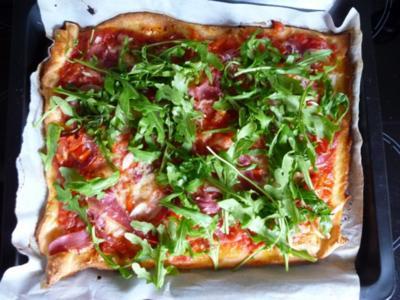 Pizza Parma - Rezept