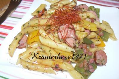 herzhafte Cabanossi Pfanne - Rezept