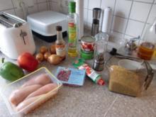 Buntes Reisfleisch a la Heiko - Rezept