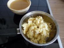 Resteverwertung : aus Kartoffel-Blumenkohlstampf ein Süppchen  zaubern - Rezept