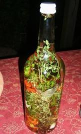 Paradiesisch pfeffriger Zitronenthymian- Essig - Rezept