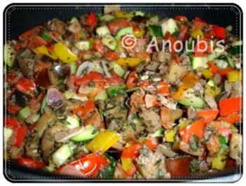 Rezept: Hauptgericht vegetarisch - Ratatouille à la Gemüsekiste