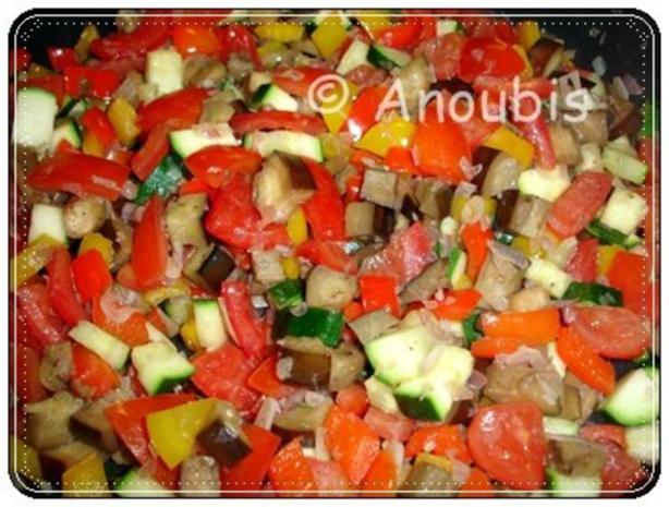 Hauptgericht vegetarisch - Ratatouille à la Gemüsekiste - Rezept - Bild Nr. 7