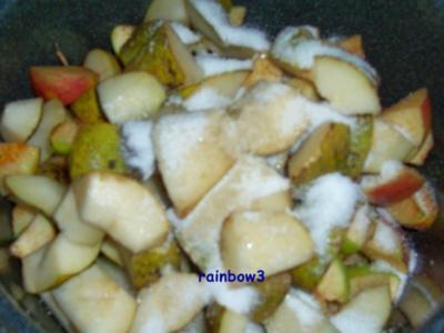 Einmachen: Birnen-Apfelmus - Rezept