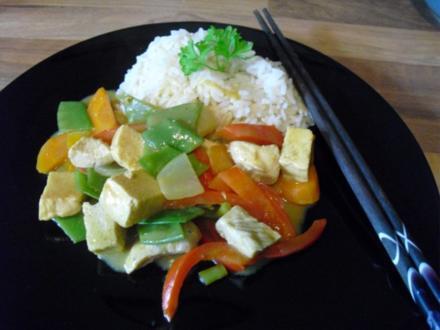 Yellow Chicken Curry - Rezept