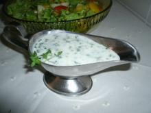 Joghurt-Dressing mit Zitronenthymian - Rezept