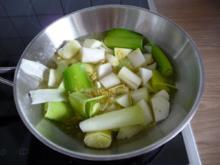 Suppen & Eintöpfe : Kohlrabi - Lauchsüppchen - Rezept