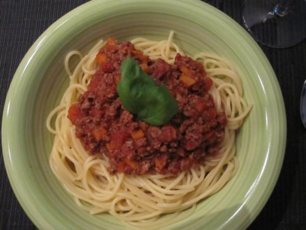 Vegetarische Bolognese - Rezept
