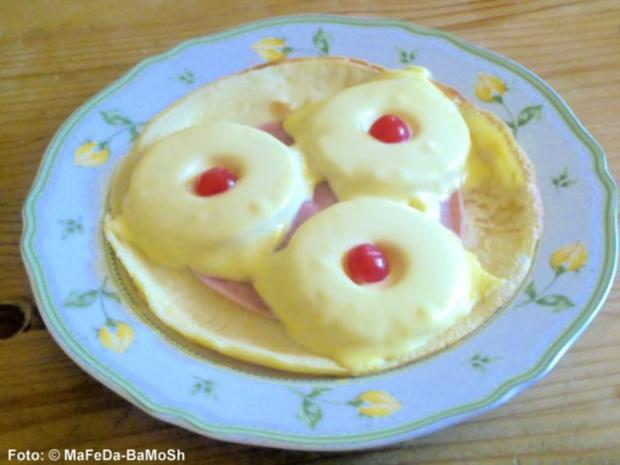"""Pfannkuchen """"Hawaii"""" - Rezept"""