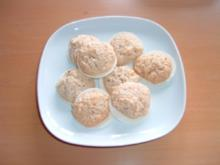 Plätzchen Gewürz-Kokos-Makronen - Rezept