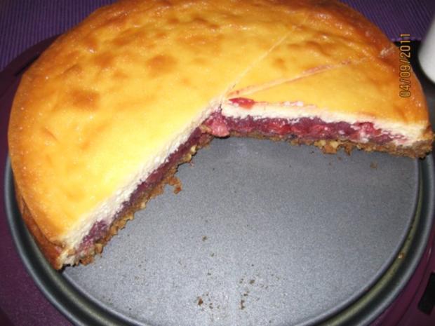 Kase Kirsch Kuchen Rezept Mit Bild Kochbar De