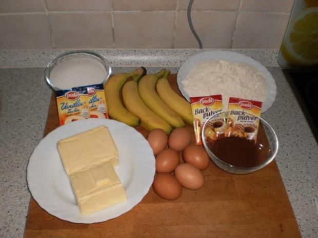 Marmor-Bananenkuchen - Rezept - Bild Nr. 2