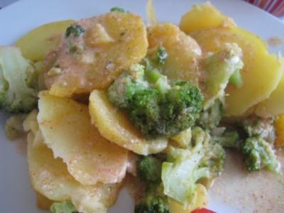 Brokkoli-Kartoffelauflauf - Rezept