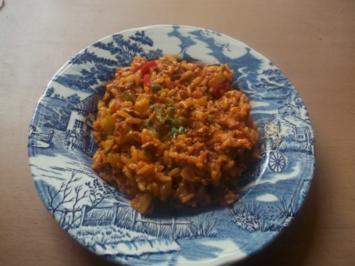 Hauptgericht: die Lieblings-Gemüse-Pfanne meiner Männer - Rezept