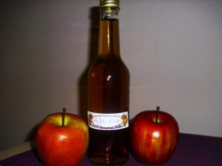 Apfel-Zimt Sirup - Rezept