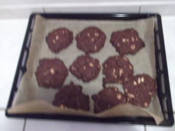 Triple Chocolate Cookies - Rezept