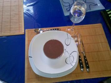 Rezept: Nachtisch: Exotischer Nachtisch zum Hackbraten