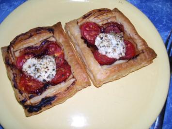 Tomaten-Käse-Tortletts - Rezept