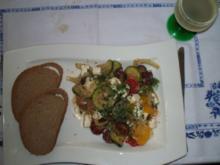 Südländischer warmer Salat - Rezept